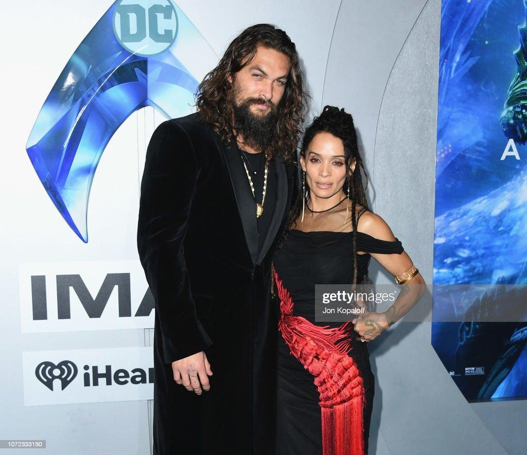 "Premiere Of Warner Bros. Pictures' ""Aquaman"" - Arrivals : News Photo"