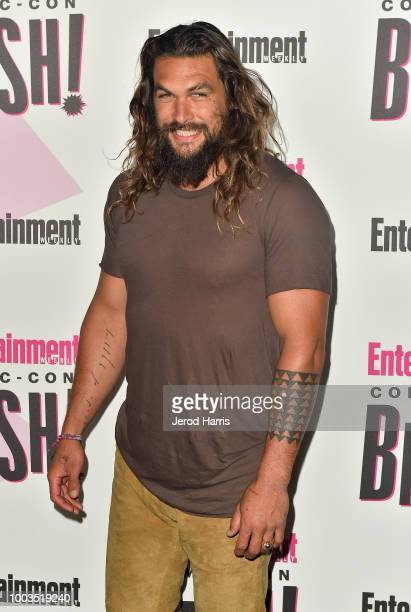 Jason Momoa attends Entertainment Weekly's ComicCon Bash held at FLOAT Hard Rock Hotel San Diego on July 21 2018 in San Diego California sponsored by...