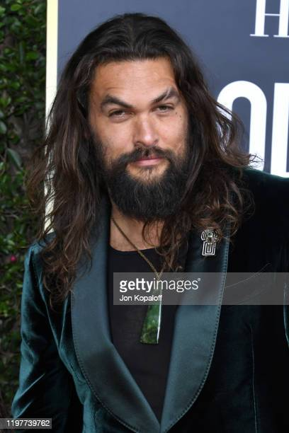 Jason Momoa attends the 77th Annual Golden Globe Awards at The Beverly Hilton Hotel on January 05 2020 in Beverly Hills California
