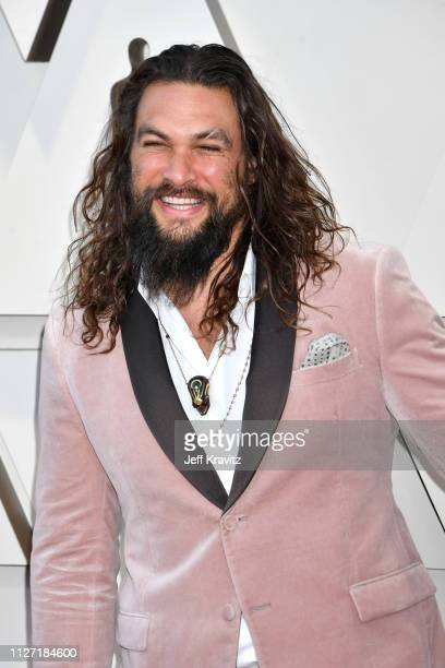 Jason Momoa attends the 91st Annual Academy Awards at Hollywood and Highland on February 24 2019 in Hollywood California