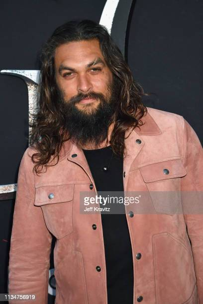 Jason Momoa attends the Game Of Thrones Season 8 NY Premiere on April 3 2019 in New York City