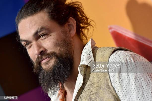 Jason Momoa attends the premiere of Warner Bros Pictures' 'The Lego Movie 2 The Second Part' at Regency Village Theatre on February 02 2019 in...