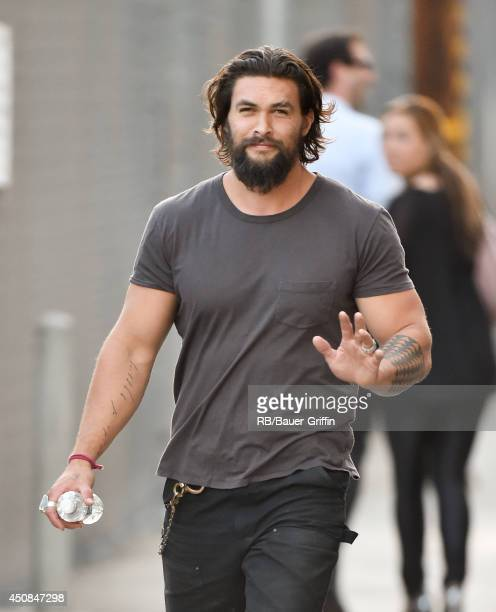 Jason Momoa is seen on June 18 2014 in Los Angeles California