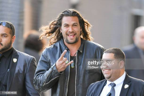 Jason Momoa is seen on May 2 2019 in Los Angeles California