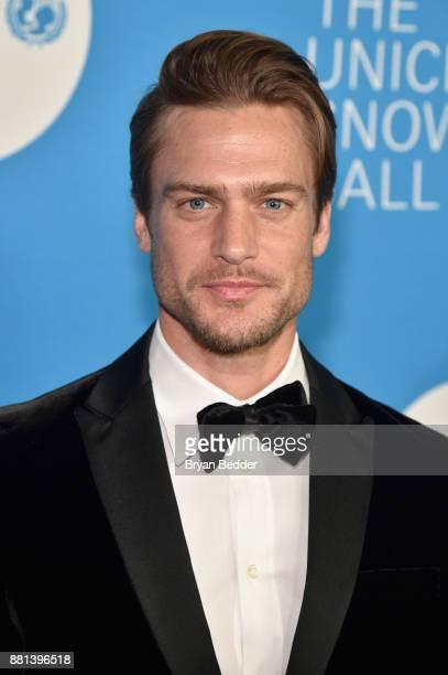Jason Morgan attends 13th Annual UNICEF Snowflake Ball 2017 at Cipriani Wall Street on November 28 2017 in New York City