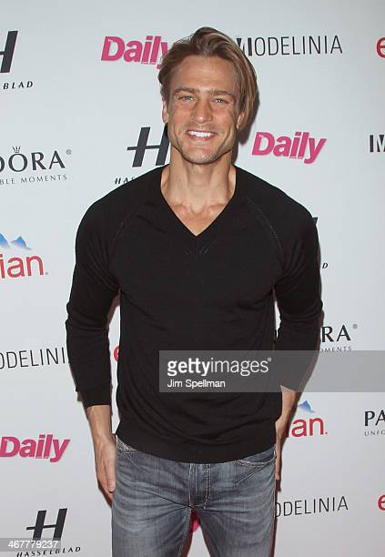 Jason Morgan attends The Daily Modelinia Present The Models Issue Party at Harlow on February 7 2014 in New York City
