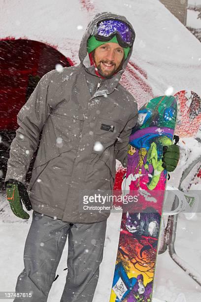 Jason Mraz at the Burton Lounge at Park City Mountain Resort on January 21 2012 in Park City Utah