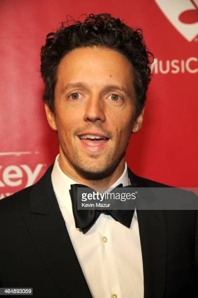 Jason Mraz attends 2014 MusiCares Person Of The Year Honoring Carole King at Los Angeles Convention Center on January 24 2014 in Los Angeles...