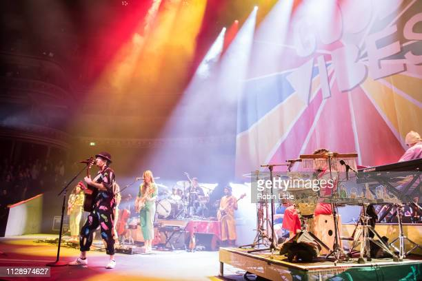 Jason Mraz performs at The Royal Albert Hall on March 6 2019 in London England