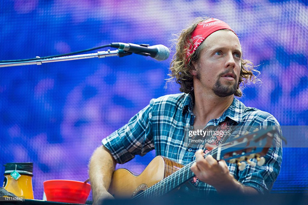Jason Mraz performs during Farm Aid 2011 at the LiveStrong Sporting Park on August 13, 2011 in Kansas City, Kansas.