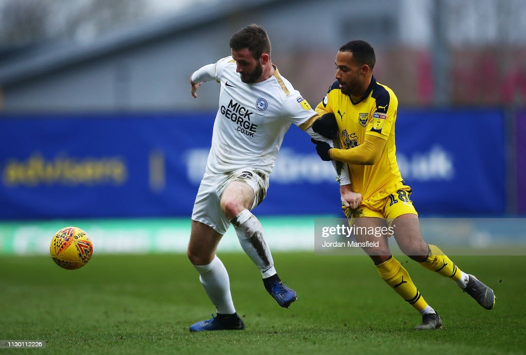 GBR: Oxford United v Peterborough United - Sky Bet League One