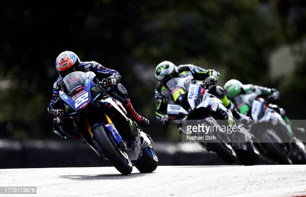 Jason O'Halloran of Australia in action during the British Superbike Championship at Oulton Park on September 08, 2019 in Chester, England.