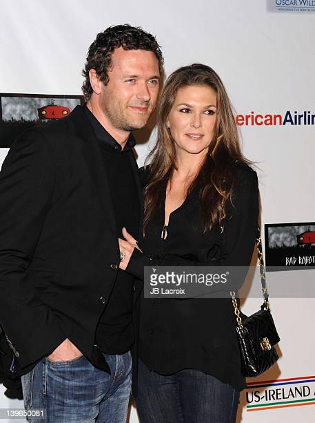 Jason O'Mara and Paige Turco attend the 7th Annual 'Oscar Wilde Honoring The Irish In Film' PreAcademy Awards Event at Bad Robot on February 23 2012...