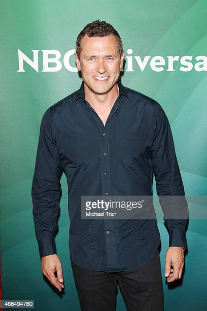 Jason O'Mara arrives at the 2015 NBCUniversal Summer press day held at The Langham Huntington Hotel and Spa on April 2, 2015 in Pasadena, California.