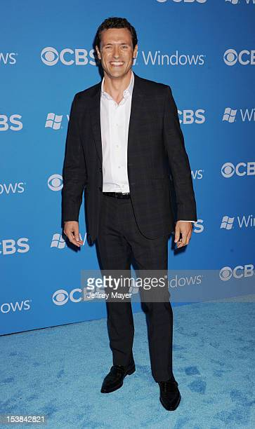 Jason O'Mara arrives at the CBS 2012 fall premiere party at Greystone Manor Supperclub on September 18 2012 in West Hollywood California