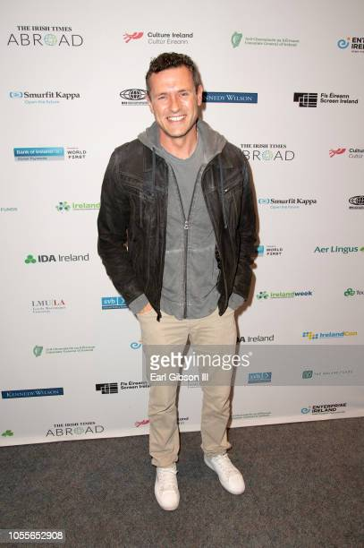 Jason O'Mara attends IrelandWeek Presents Queens PlayboysA Celebration Of Irish Theatre at Barnsdall Gallery Theater on October 30 2018 in Los...
