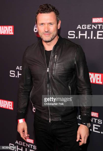 "Jason O'Mara attends the 100th episode celebration of ABC's ""Marvel's Agents of S.H.I.E.L.D."" at OHM Nightclub on February 24, 2018 in Hollywood,..."