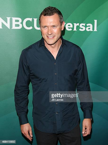 Jason O'Mara attends the 2015 NBCUniversal Summer Press Day held at the The Langham Huntington Hotel and Spa on April 02 2015 in Pasadena California