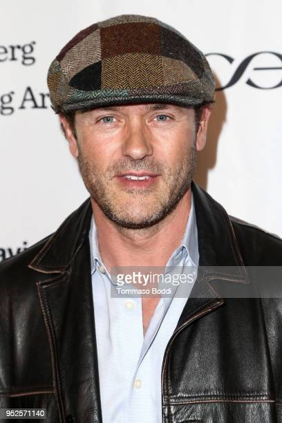 Jason O'Mara attends the BritWeek And The Wallis Present A Shakespeare Jubilee at Wallis Annenberg Center for the Performing Arts on April 28 2018 in...