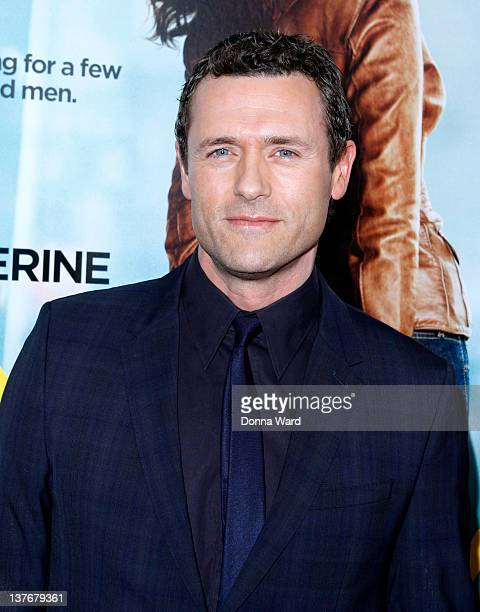 Jason O'Mara attends the One for the Money premiere at the AMC Loews Lincoln Square on January 24 2012 in New York City