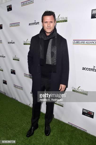 Jason O'Mara attends the Oscar Wilde Awards 2018 at Bad Robot on March 1 2018 in Santa Monica California