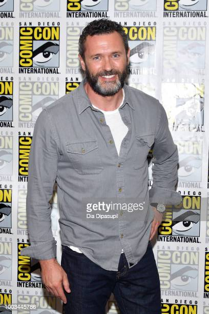 Jason O'Mara attends the 'The Man In The High Castle' Press Line during ComicCon International 2018 at Hilton Bayfront on July 21 2018 in San Diego...
