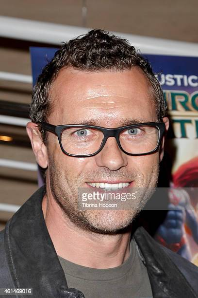 Jason O'Mara attends the world premiere of 'Justice League Throne Of Atlantis' at The Paley Center for Media on January 12 2015 in Beverly Hills...