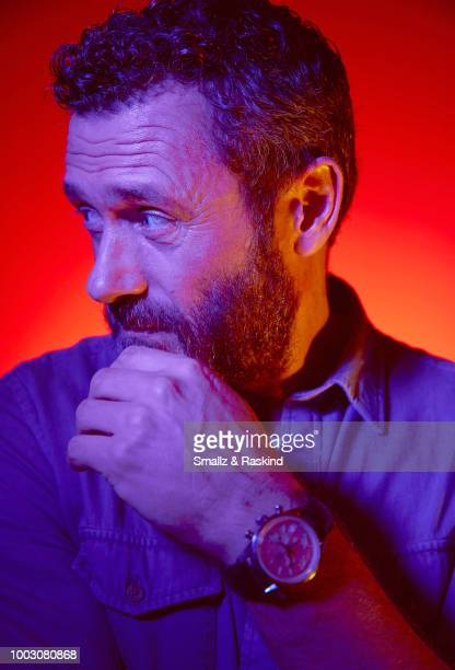 Jason O'Mara from Amazon's 'The Man in the High Castle' poses for a portrait at the Getty Images Portrait Studio powered by Pizza Hut at San Diego...