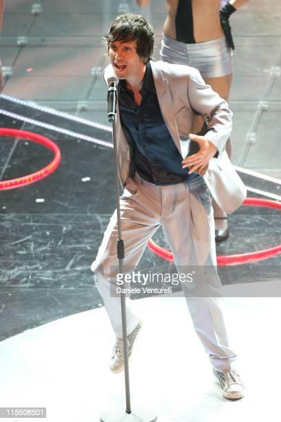 Jason Orange of Take That during 57th San Remo Music Festival Take That in Concert at Teatro Ariston in Sanremo Italy