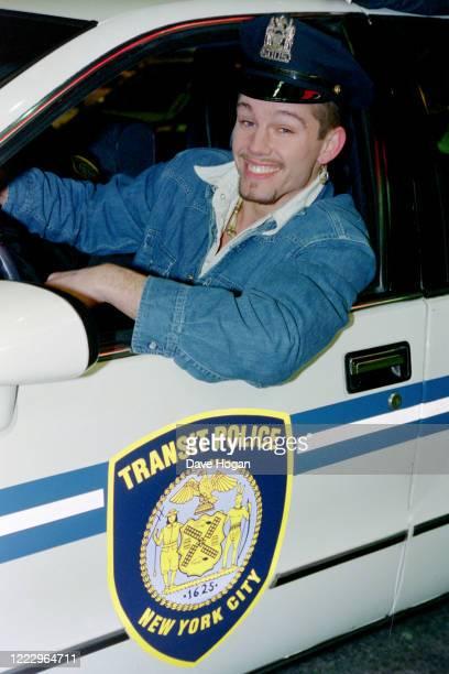 Jason Orange of Take That in New York 1995
