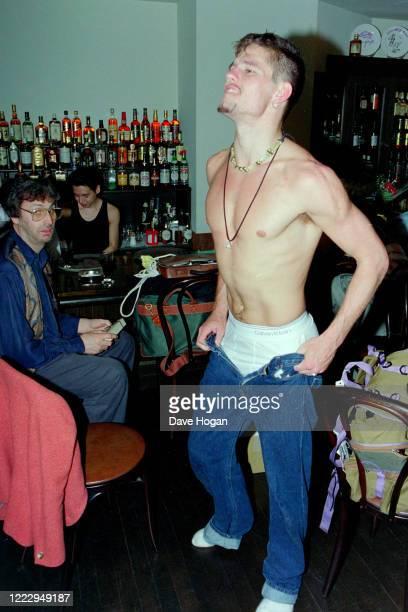 Jason Orange of Take That in Tokyo, March 1993