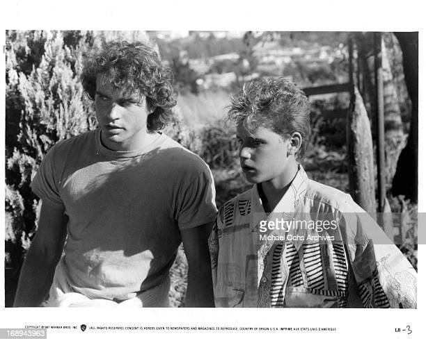 Jason Patric and Corey Haim in a scene from the film 'The Lost Boys' 1987