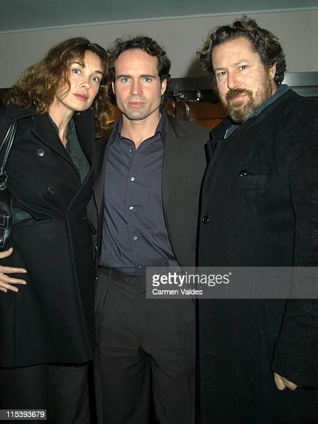 Jason Patric and Julian Schnabel during 'NARC' New York City Premiere at Directors Guild of America Theater in New York New York