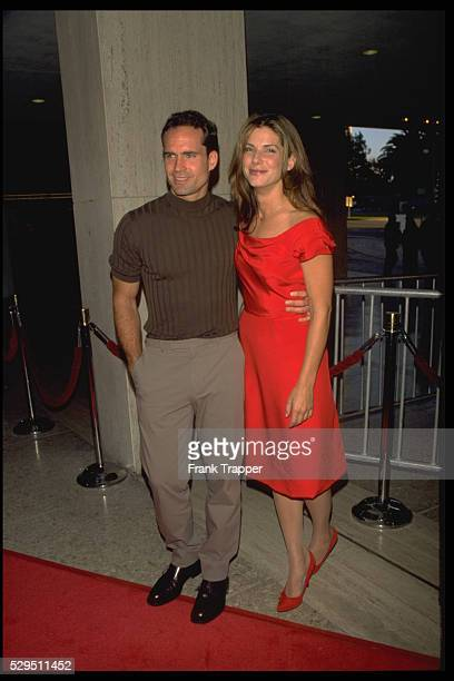 Jason Patric and Sandra Bullock at Premiere of Speed II