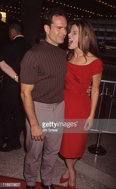 Jason Patric and Sandra Bullock during 'Speed 2 Cruise Control' Los Angeles Premiere at Cineplex Odeon Century Plaza Cinema in Century City...