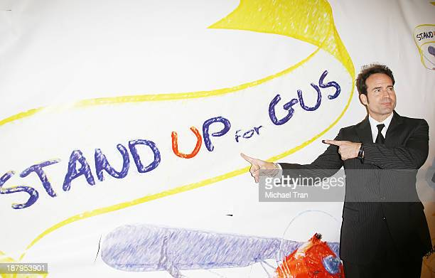 Jason Patric arrives at the 'Stand Up For Gus' benefit event held at Bootsy Bellows on November 13 2013 in West Hollywood California