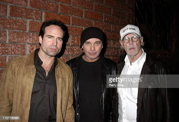 Jason Patric Billy Bob Thornton and Bruce Dern during Bruce Dern Presents the West Coast Premiere of 'Chicken' at Lillian Theatre in Hollywood...