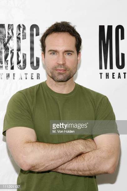 Jason Patric during Ron Livingston Jason Patric and Author Neil LaBute on First Day of Rehearsal for New Play 'In a Dark Dark House' at Roundabout...