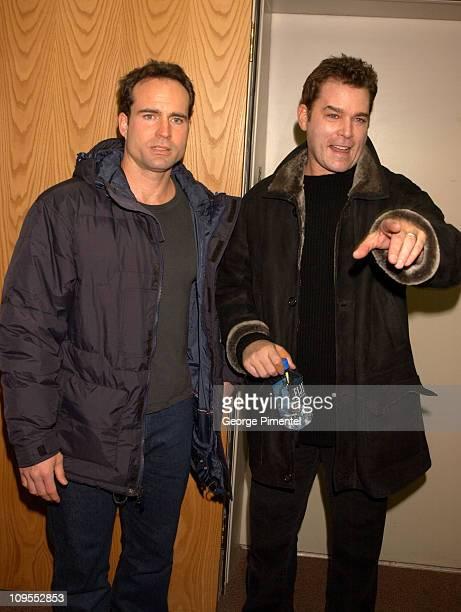 Jason Patric Ray Liotta during 2002 Sundance Film Festival Narc Premiere in Park City Utah United States