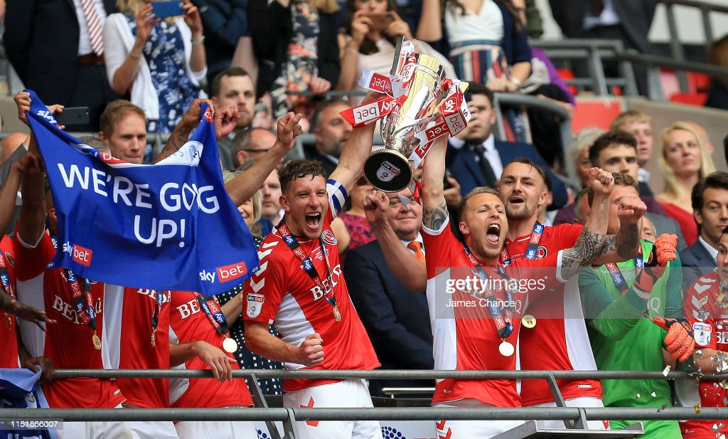 Charlton Athletic v Sunderland - Sky Bet League One Play-off Final : News Photo
