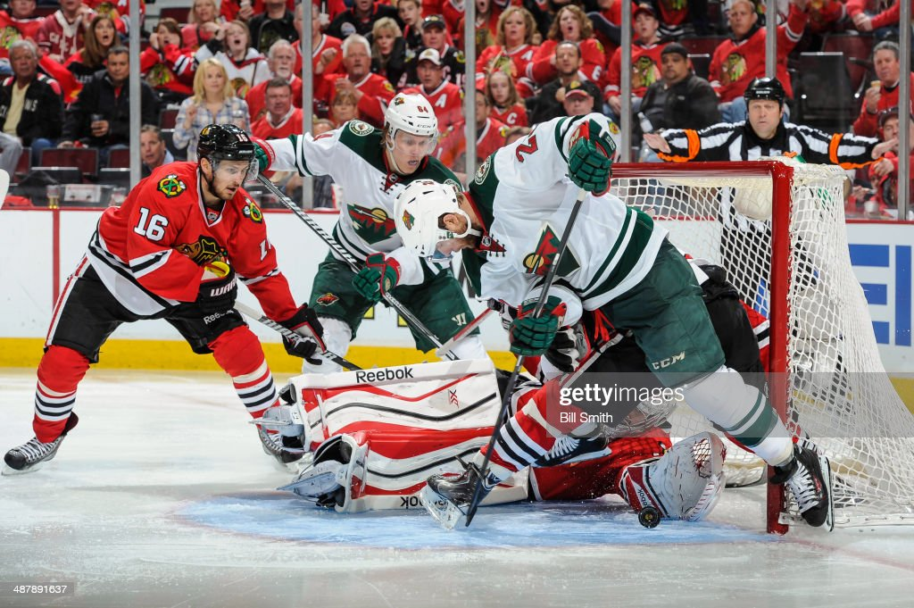 Minnesota Wild v Chicago Blackhawks - Game One