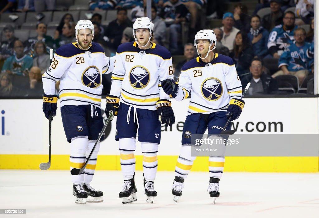 Buffalo Sabres v San Jose Sharks : News Photo