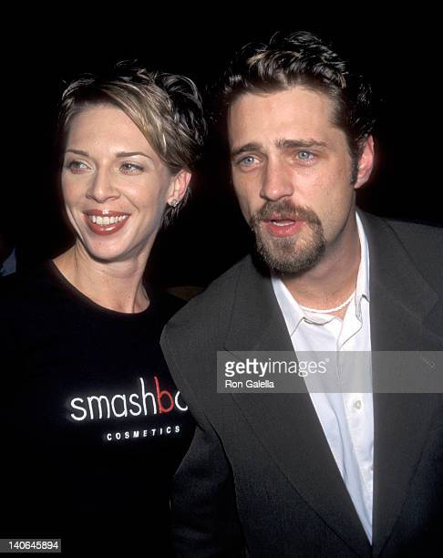 Jason Priestley and Ashlee Petersen at the Premiere of 'Double Jeopardy' Paramount Theatre Hollywood