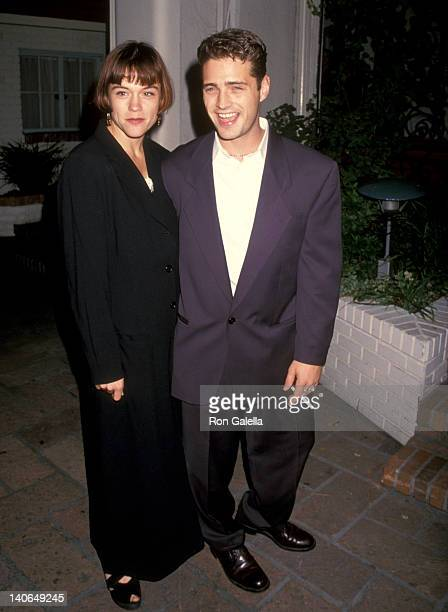 Jason Priestley and Christine Elise at the Benefit for Best Friends Animal Sanctuary Chateau Marmont Hotel West Hollywood