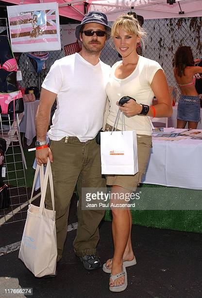 Jason Priestley and Naomi Lowde at Girl Star during Silver Spoon Hollywood Buffet Day One at Private Estate in Hollywood California United States...