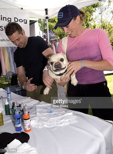 Jason Priestley and Naomi Lowde at Much Love Animal Rescue Photo by Chris Weeks/WireImage for Silver Spoon
