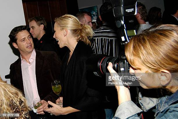 Jason Priestley and Naomi Lowde attend Esquire and Oceana Charity Event at Esquire Downtown at Astor Place on November 7 2005 in New York City