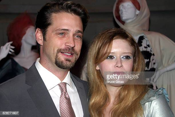 Jason Priestley and Natasha Lyonne during Die Mommie Die New York Premiere Afterparty at Laura Belle in New York City New York United States