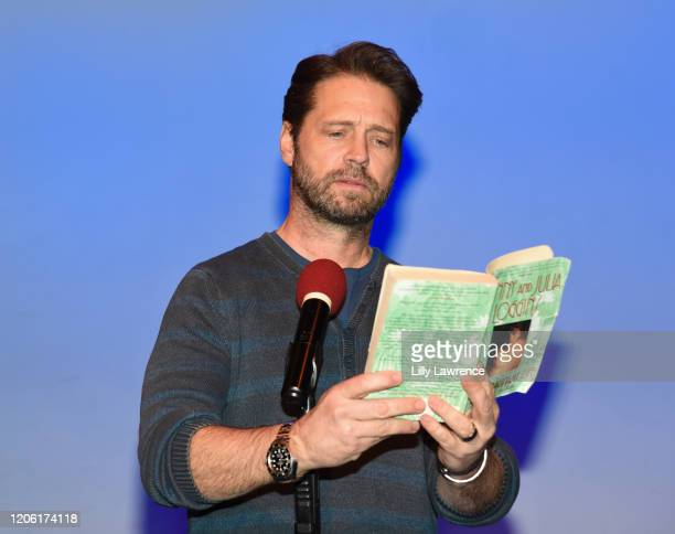 "Jason Priestley attends The Groundlings Theatre In LA Hosts ""Celebrity Autobiography"" at The Groundlings Theatre on February 11, 2020 in Los Angeles,..."