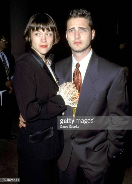 Jason Priestley Christine Elise during 8th Annual Outstanding Achievement in Cinematography at Beverly Hilton Hotel in Beverly Hills California...